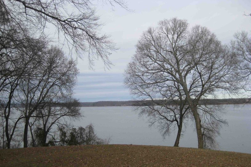 Colbert's stand ferry crossing on pickwick lake on the natchez trace
