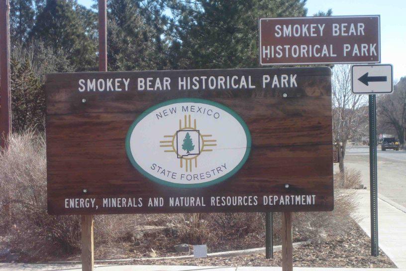 Smokey Bear Historical Park in New Mexico