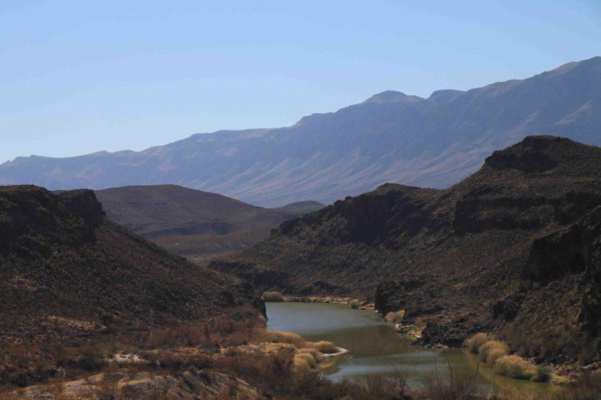 rio grande river between texas and mexico