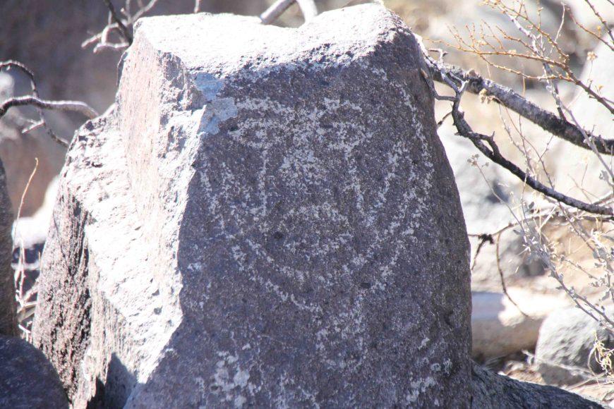 petroglyph at Three Rivers Petroglyph Site