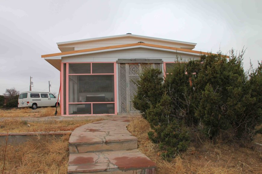 cabin at Palo Duro Canyon State Park