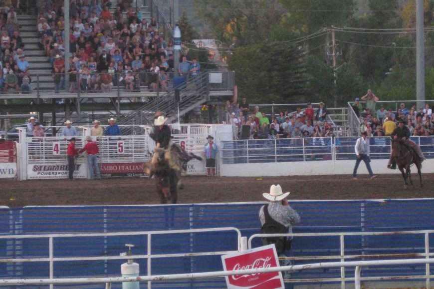 the rodeo in Steamboat