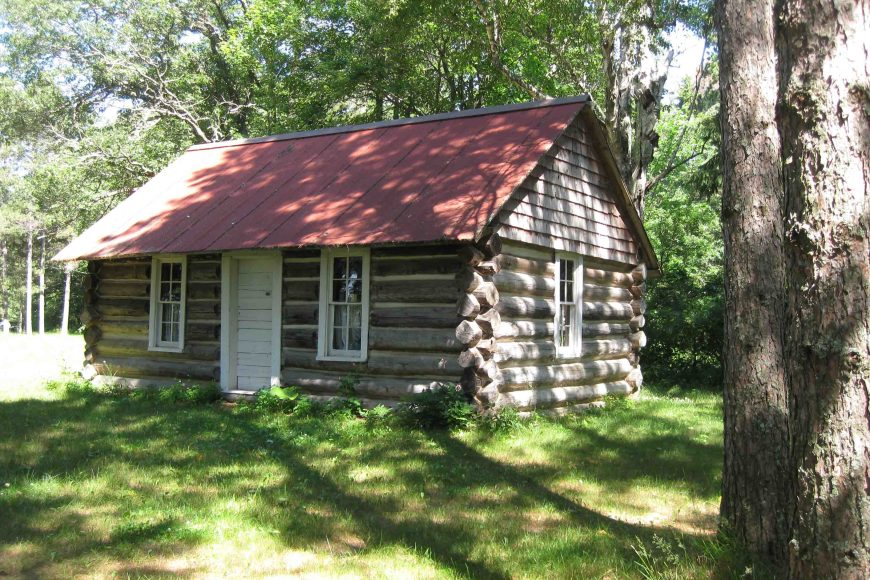 historic ranger station in chippewa national forest