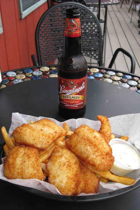 fish and chips in grand marais