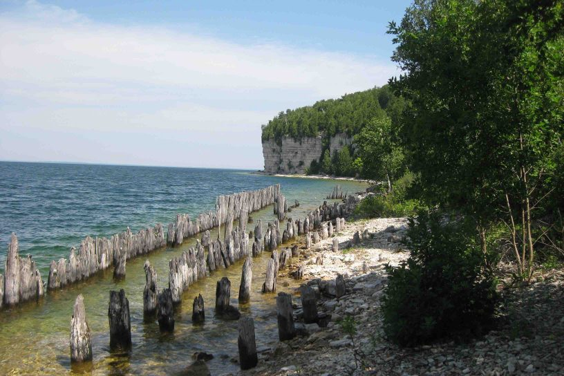fayette historic state park on michigan's upper peninsula