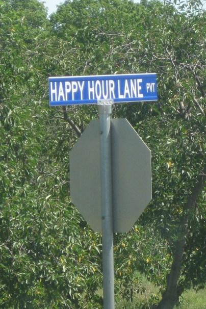 happy hour lane