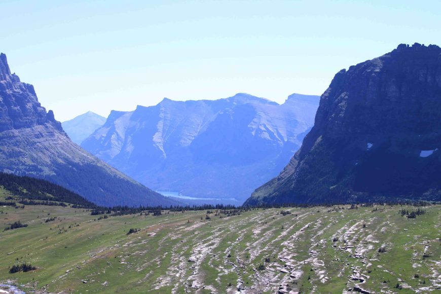 logan pass on the going to the sun road