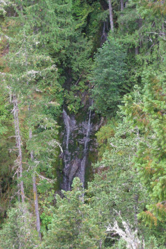 waterfall at falls view campground