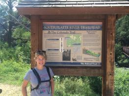 Trailhead segment 2 of Colorado trail