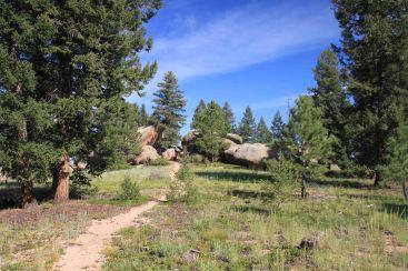 rocks on the colorado trail