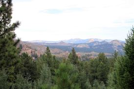 view from the colorado trail segment 3