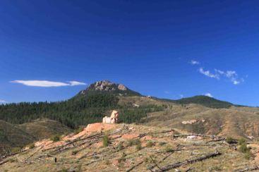 rocky area on colorado trail segment 1