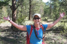 me on the colorado trail segment 2