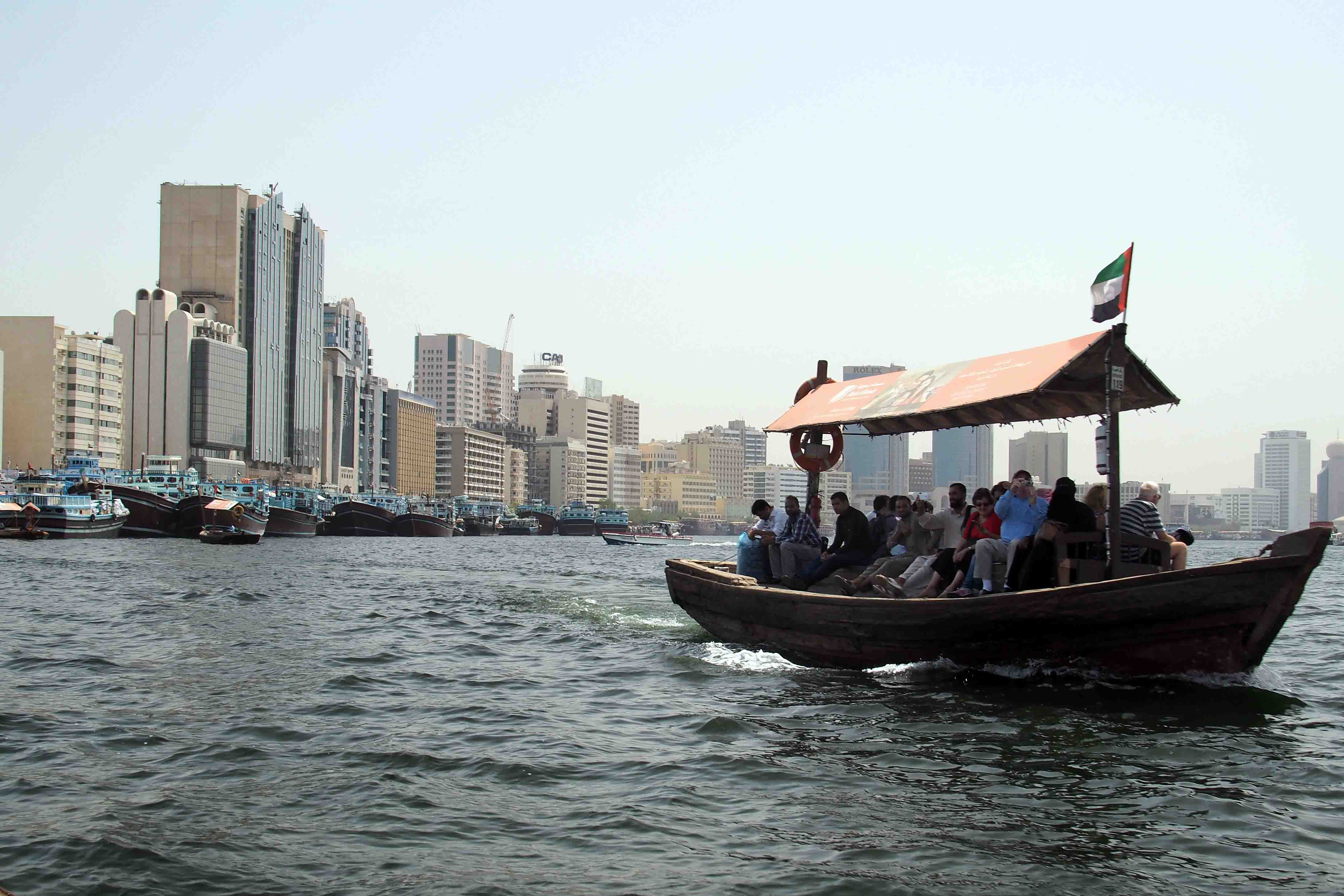 Water taxi in Dubai