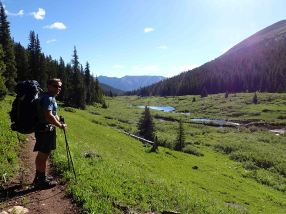 David on the colorado trail
