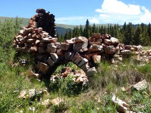 coking ovens on the Colorado Trail