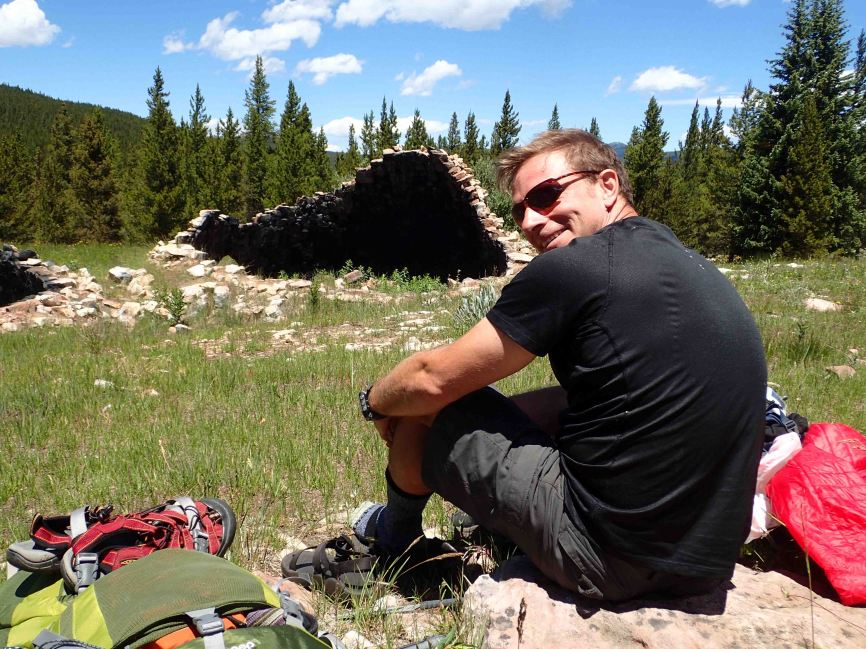 picnic on the Colorado Trail
