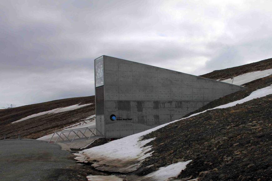 seed bank in Longyearbyen, Spitsbergen
