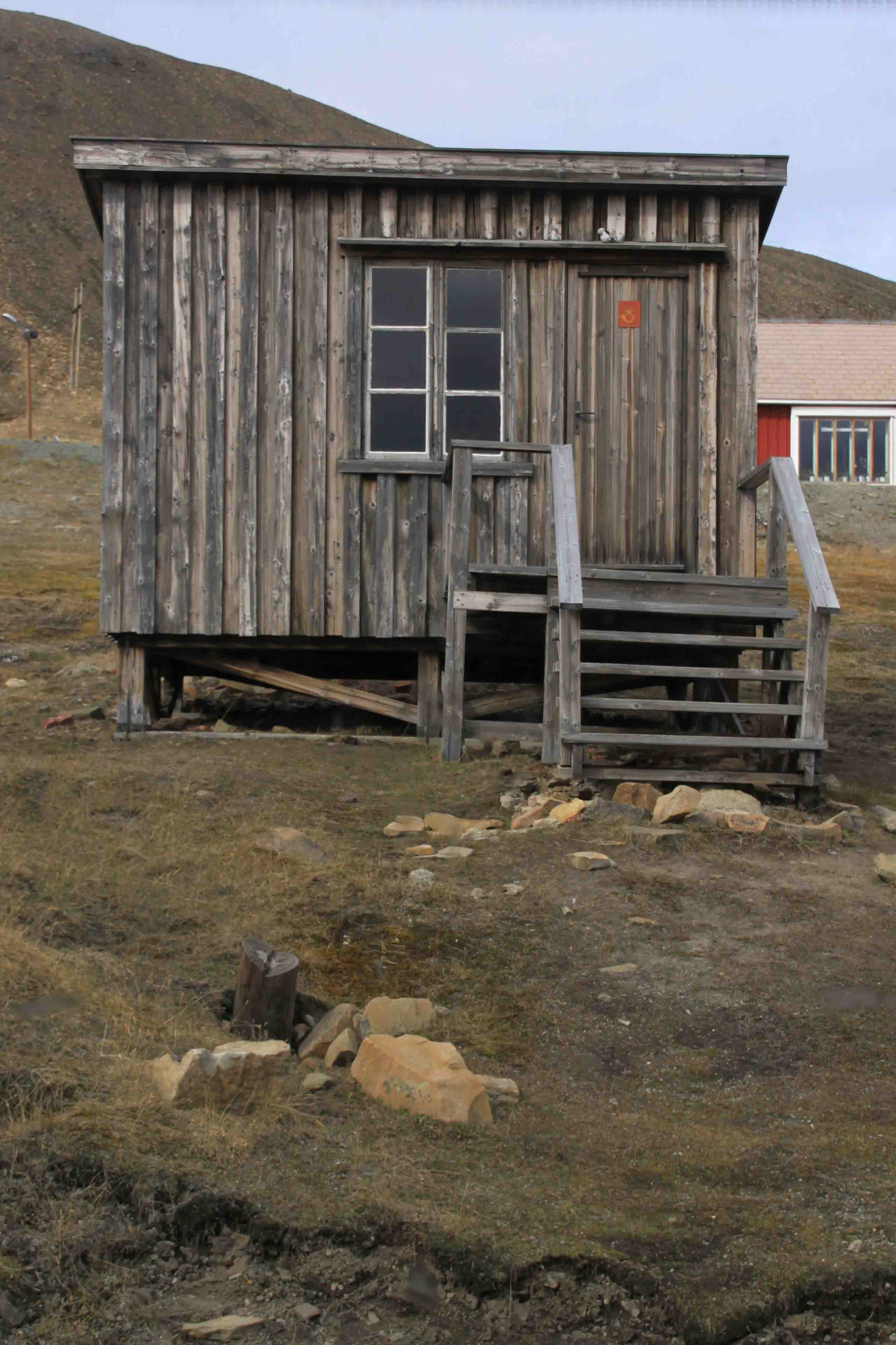 old post office in Longyearbyen, Spitsbergen