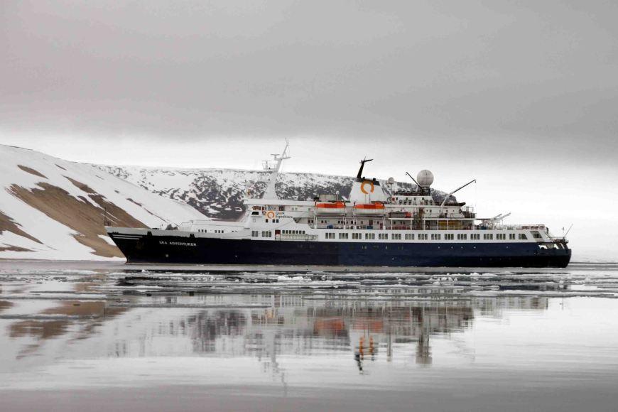 quark expedition sea adventurer ship