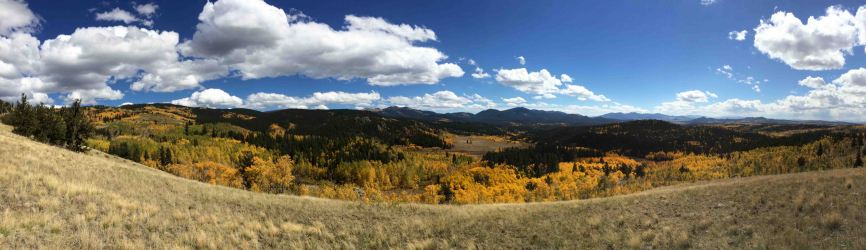 segment 5 colorado trail, fall hikes near denver
