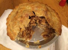 homemade apple pie!