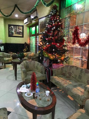 lobby at amman pasha hotel