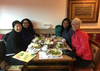 Margaret, Syreeta, Beth, Suman
