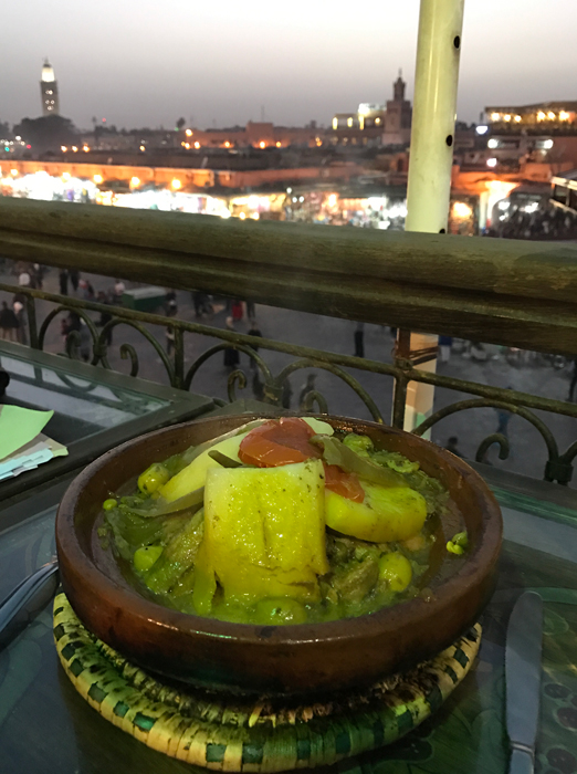 tajine in marrakesh medina