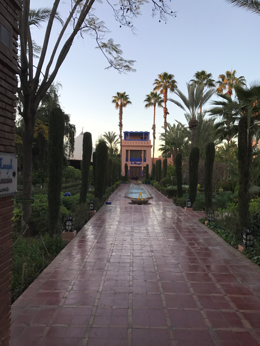 Le Méridien N'Fis hotel in marrakesh