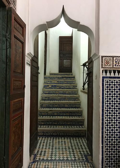 Mussée Dar Si Saïd in Marrakesh