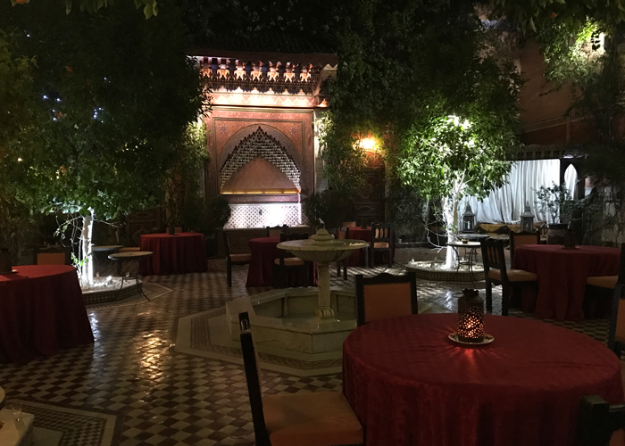 Ksar El Hamra in Marrakesh