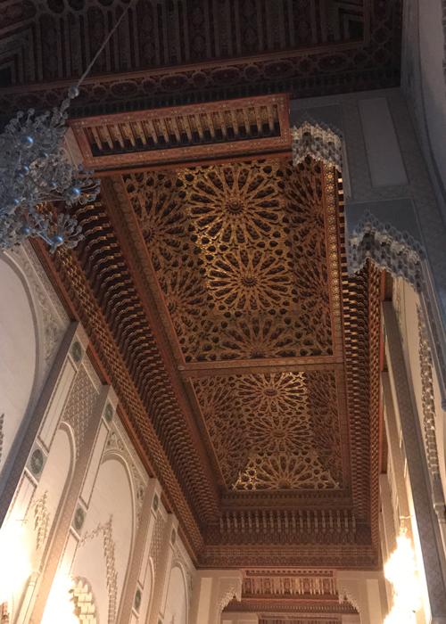 retractable ceiling in Hassan II Mosque in Casablanca