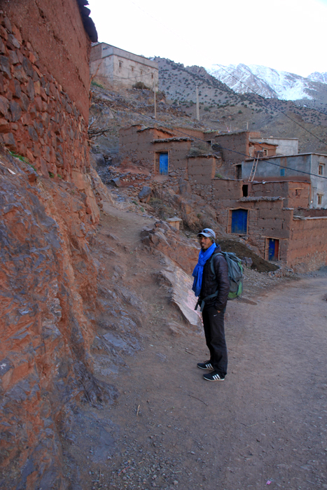 tizi oudite trail from ait aissa