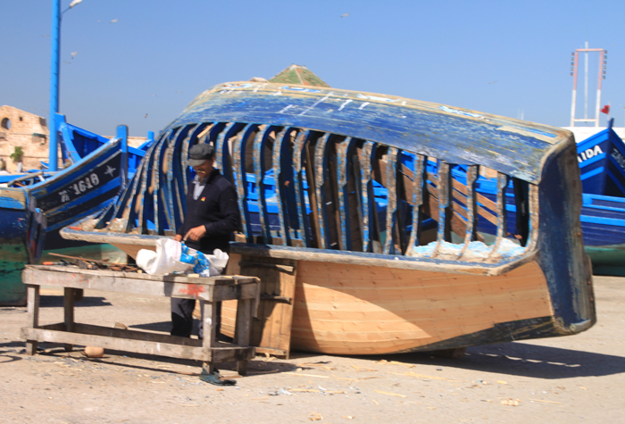 boat repair in essaouira