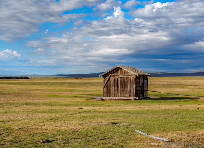 building on the mongolian steppe