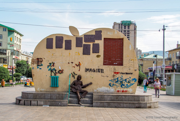 Exploring Ulaanbaatar: The Beatles Monument