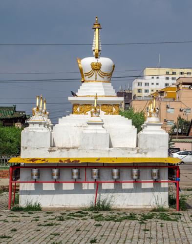 ochidara temple in Mongolia