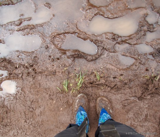 this is not even a muddy section