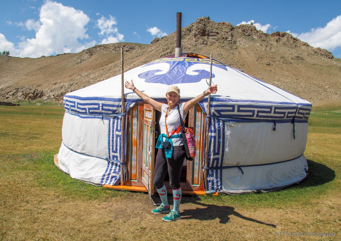 our ger in Mongolia