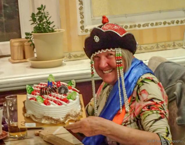 ingrid's birthday in mongolia