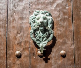 Lion door knocker means the resident is in the armed forces