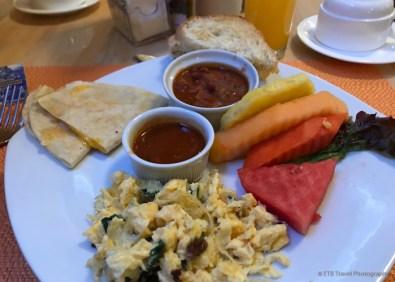 breakfast in Guatemala City