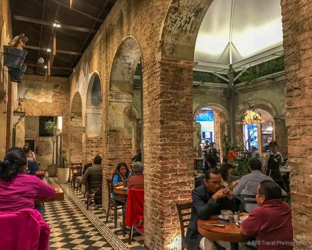 San Martin restaurant in Guatemala City
