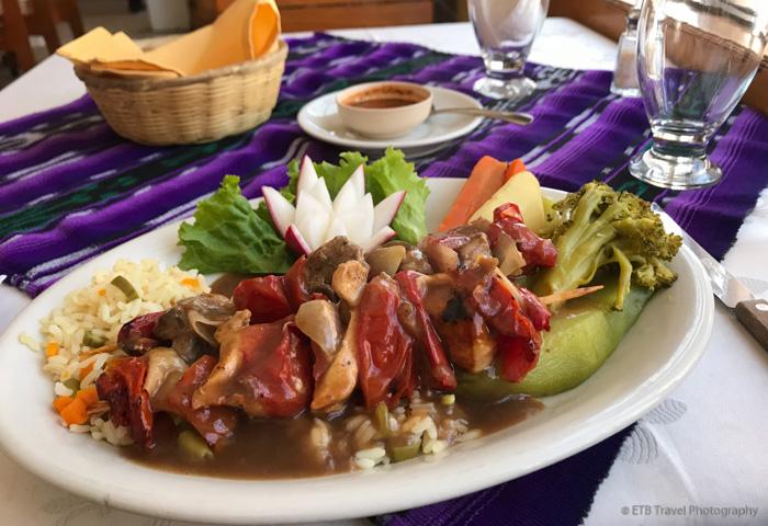 lunch in chichicastenango