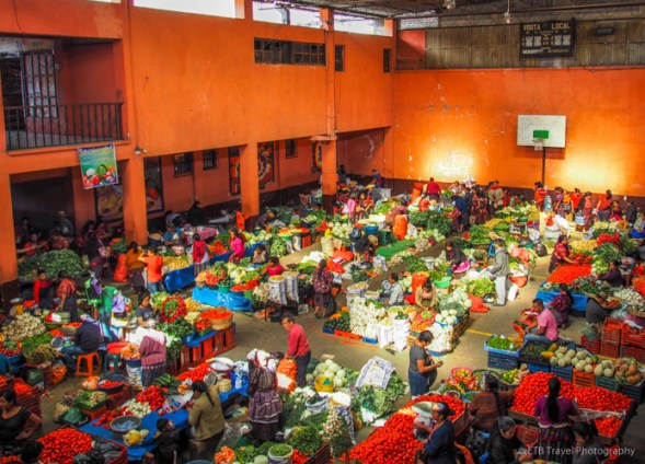vegetable market in chichicastenango
