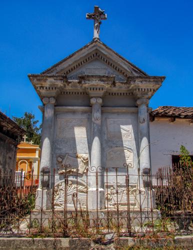 mausoleum in cemetery