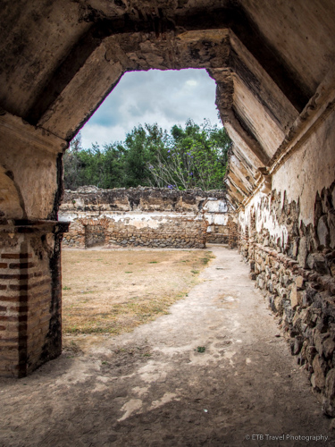 ruins and churches in antigua