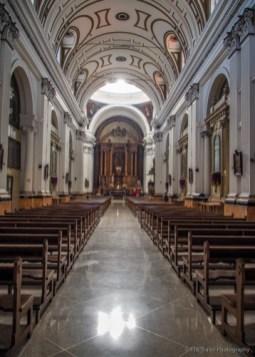 Inside Iglesia San Francisco