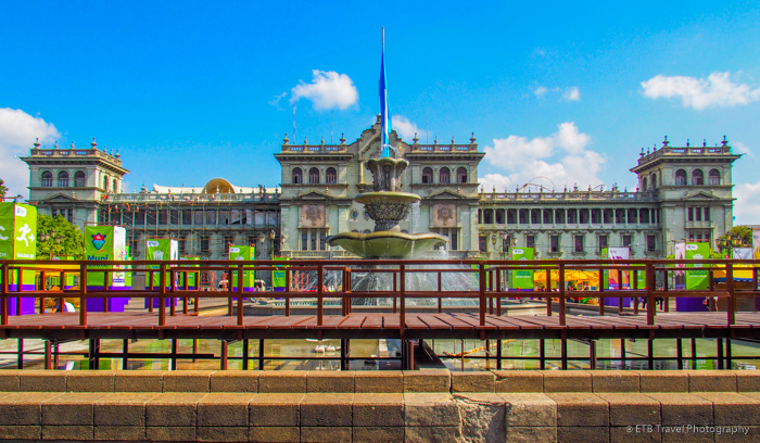 National Palace in Guatemala City